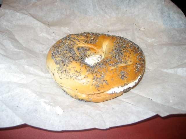 Looks like a bagel